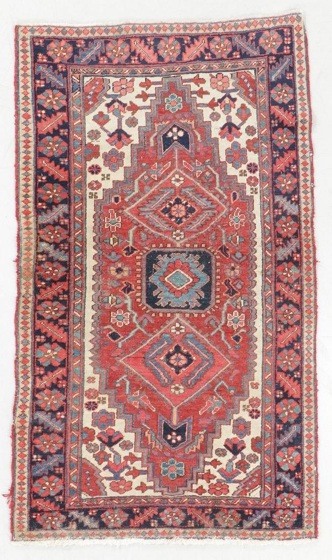 Heriz Rug, Persia, Early 20th C., 3'6'' x 5'10''
