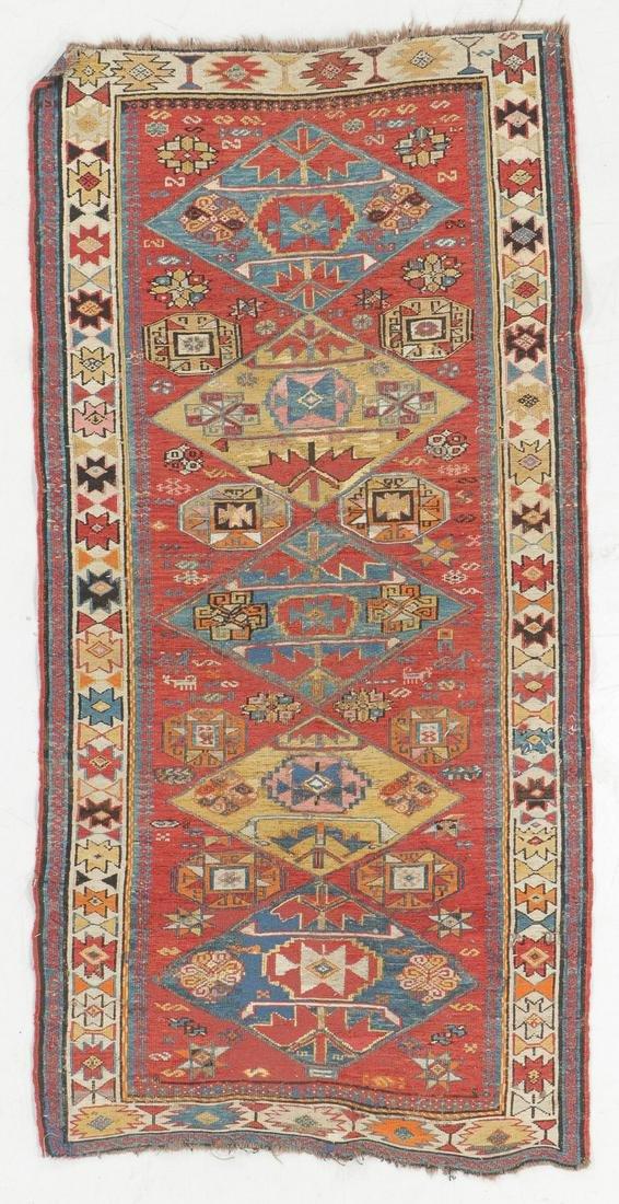 Sumak Rug, Caucasus, Late 19th C., 2'10'' x 5'5'