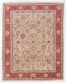 Semi-Antique Tabriz Rug, Persia: 8