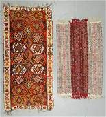 2 Semi-Antique Turkish Kilims
