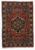 Antique Senneh Rug, Persia: 4