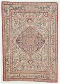 Antique Lavar Kerman Rug, Persia: 4'2'' x 5'10''