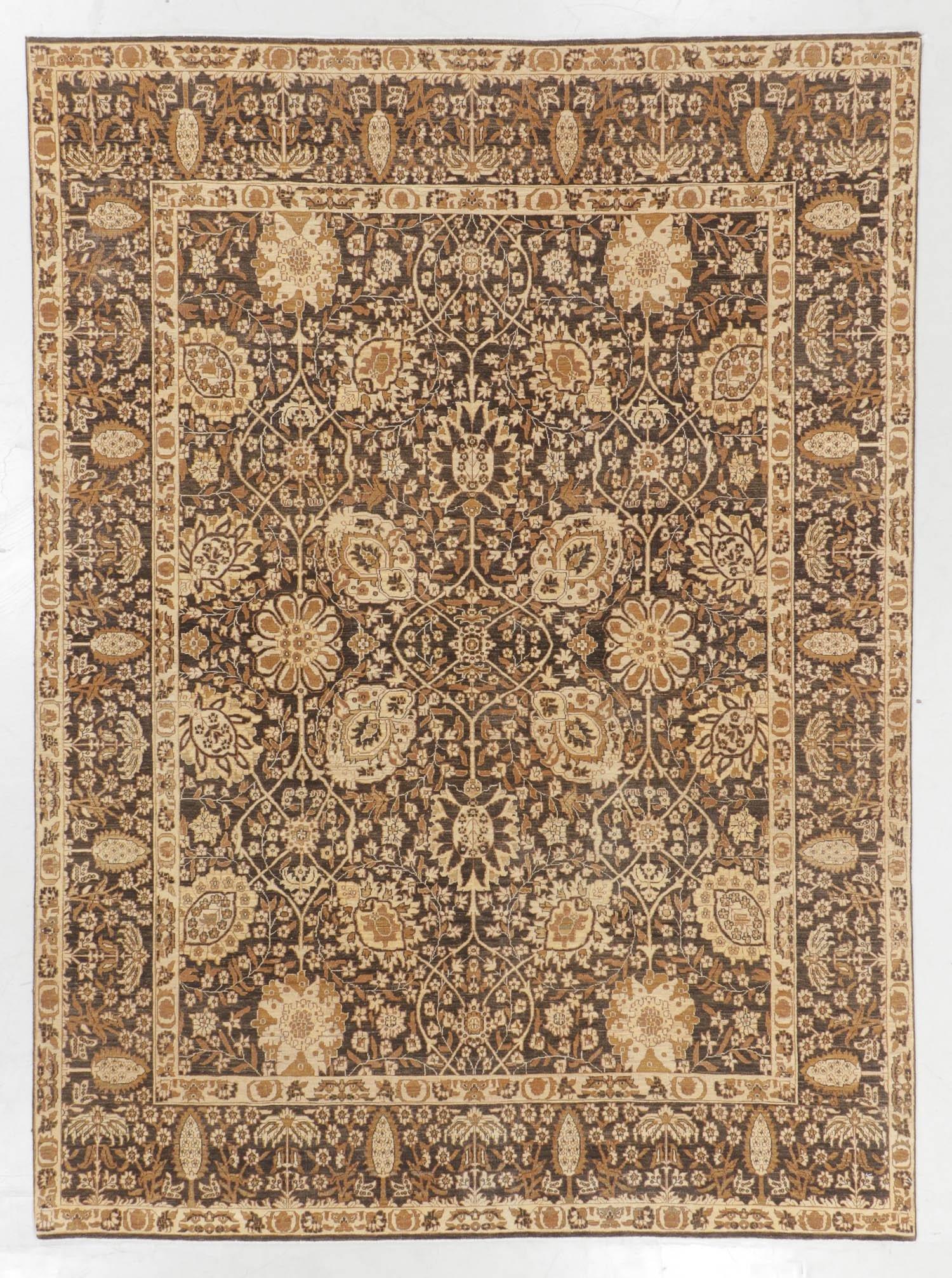 Tabriz Style Rug, India, Late 20th C., 8'0'' x 10'10''