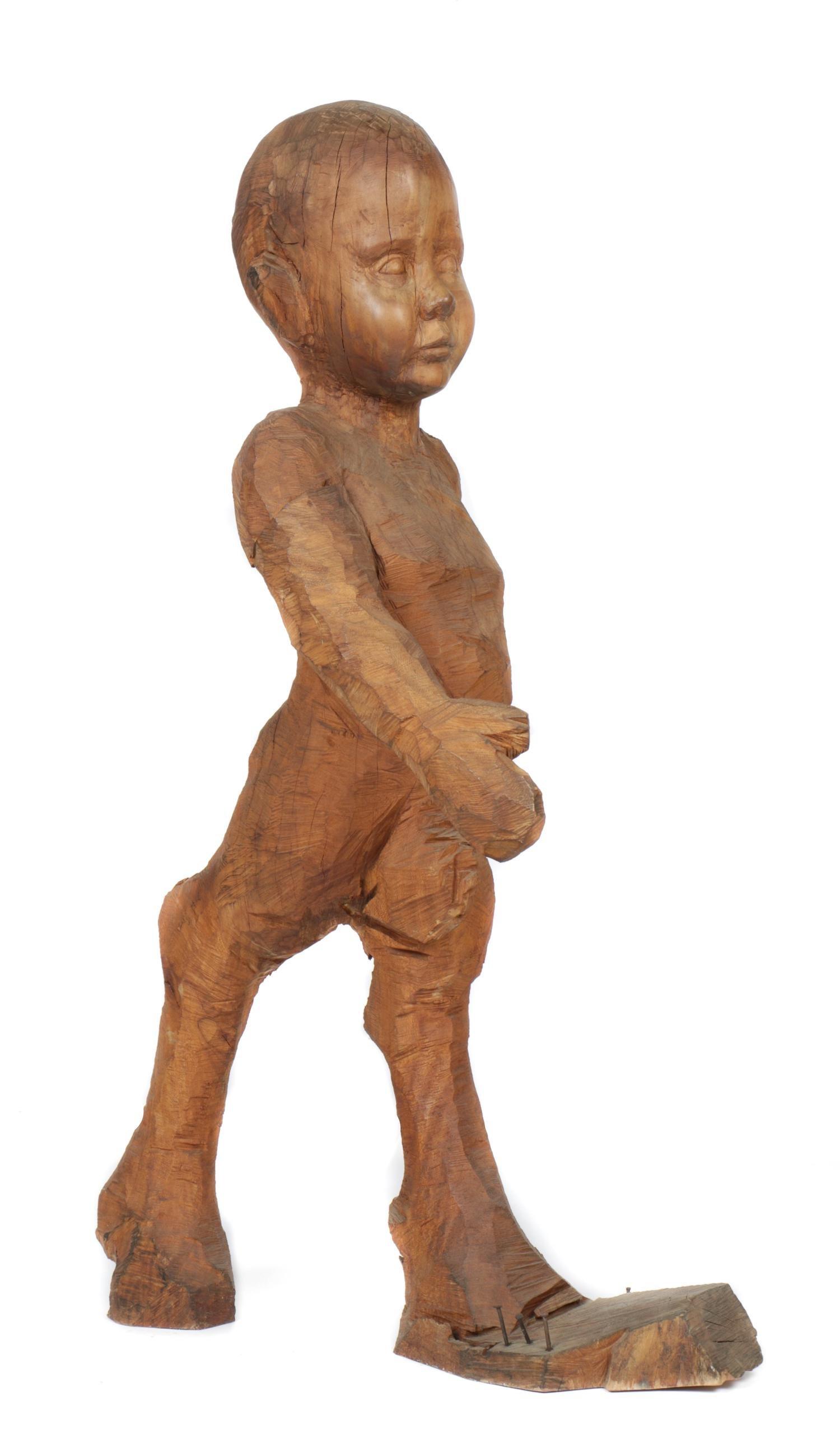 Daniel Wurtzel (American, b.1962) Wood Sculpture