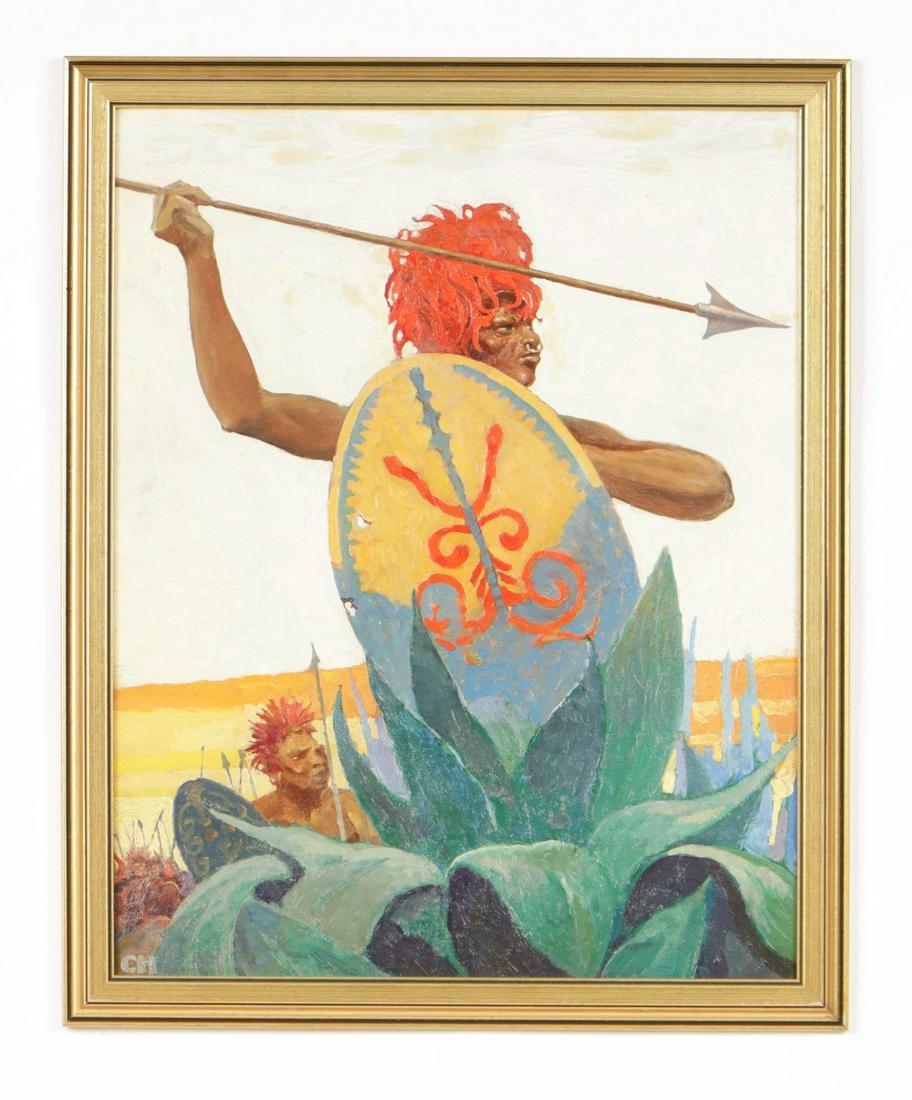 Charles Hargens (American Illustrator, 1893-1997)