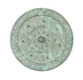 Chinese Bronze Mirror, Eastern Han Dynasty, 25 - 220