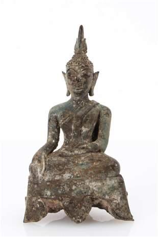 Bronze Lao Buddha, 16th-18th C.