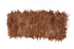 Rare Tibetan Shag Rug, Circa 1900