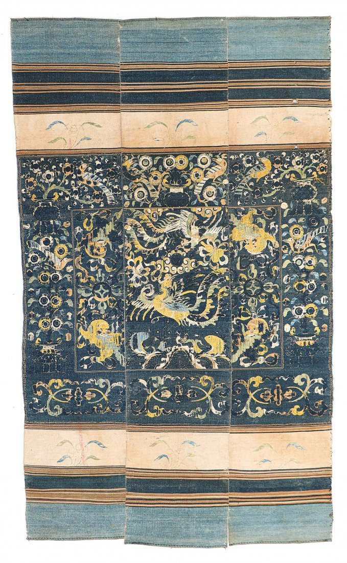 Elegant Li Ceremonial Dragon Cover, 18th/19th c.