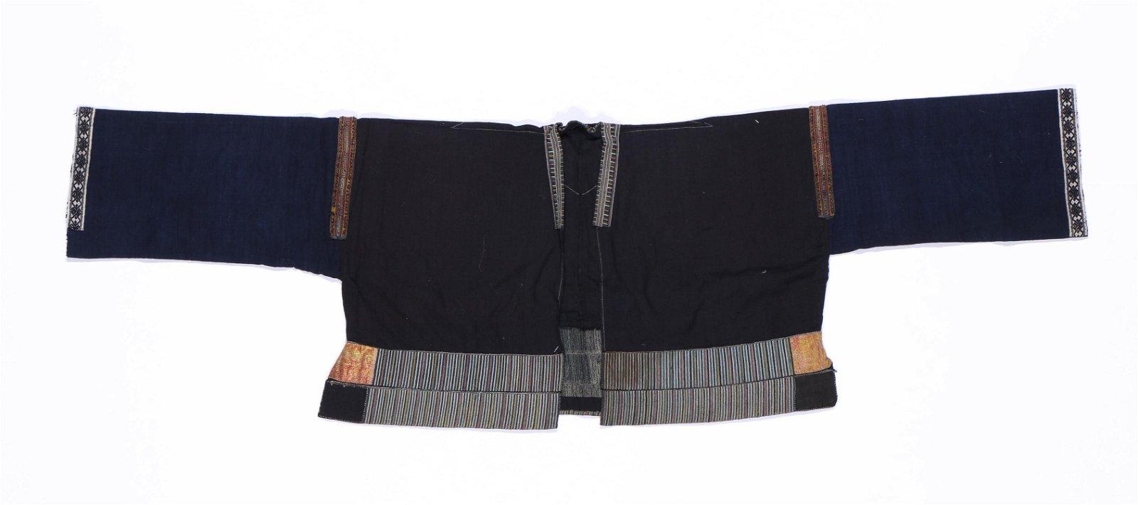 Danzai Miao Cotton Jacket with Silk Embroidery