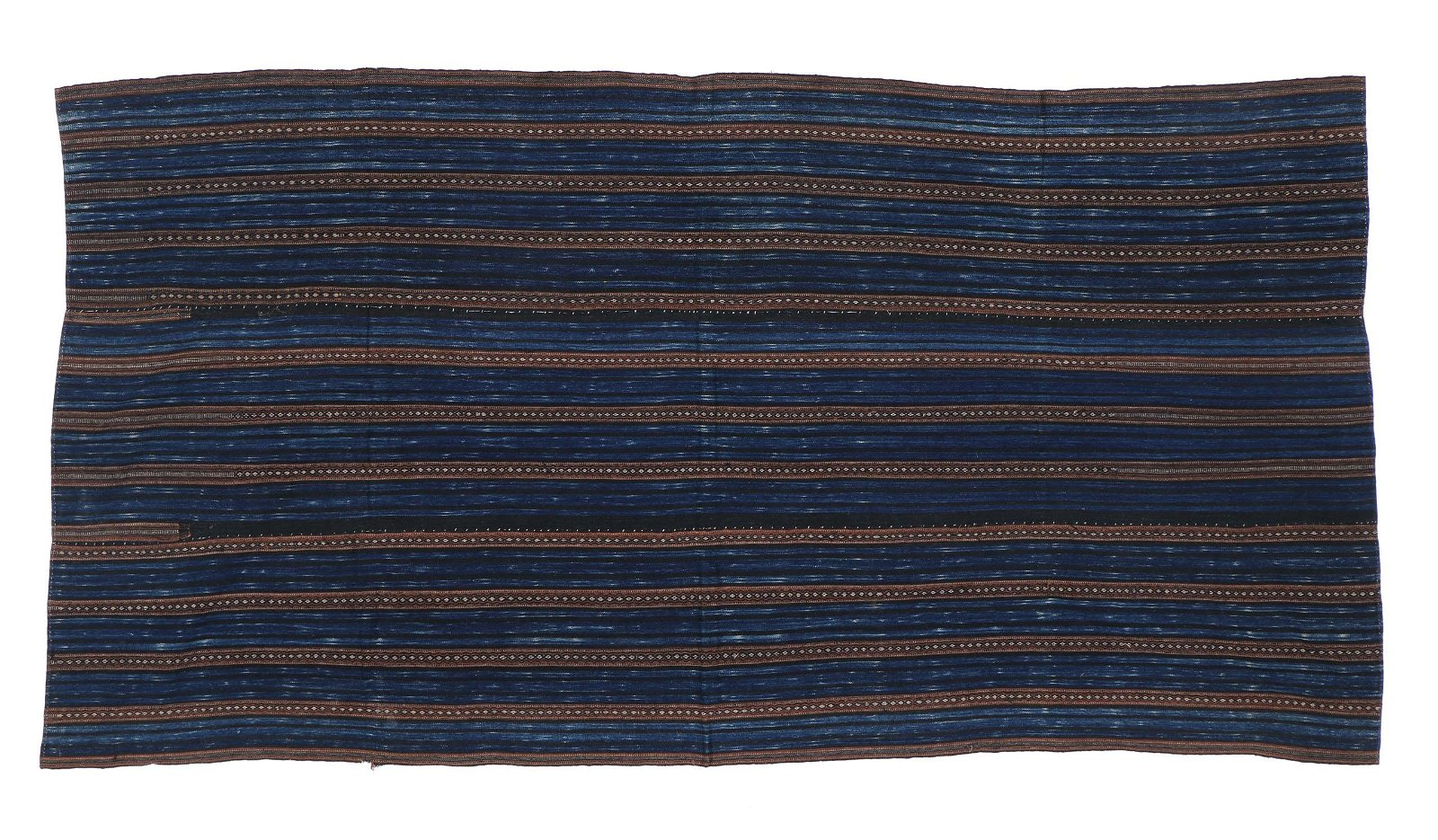 Li Cotton Blanket Chinese Textile, Hainan, China