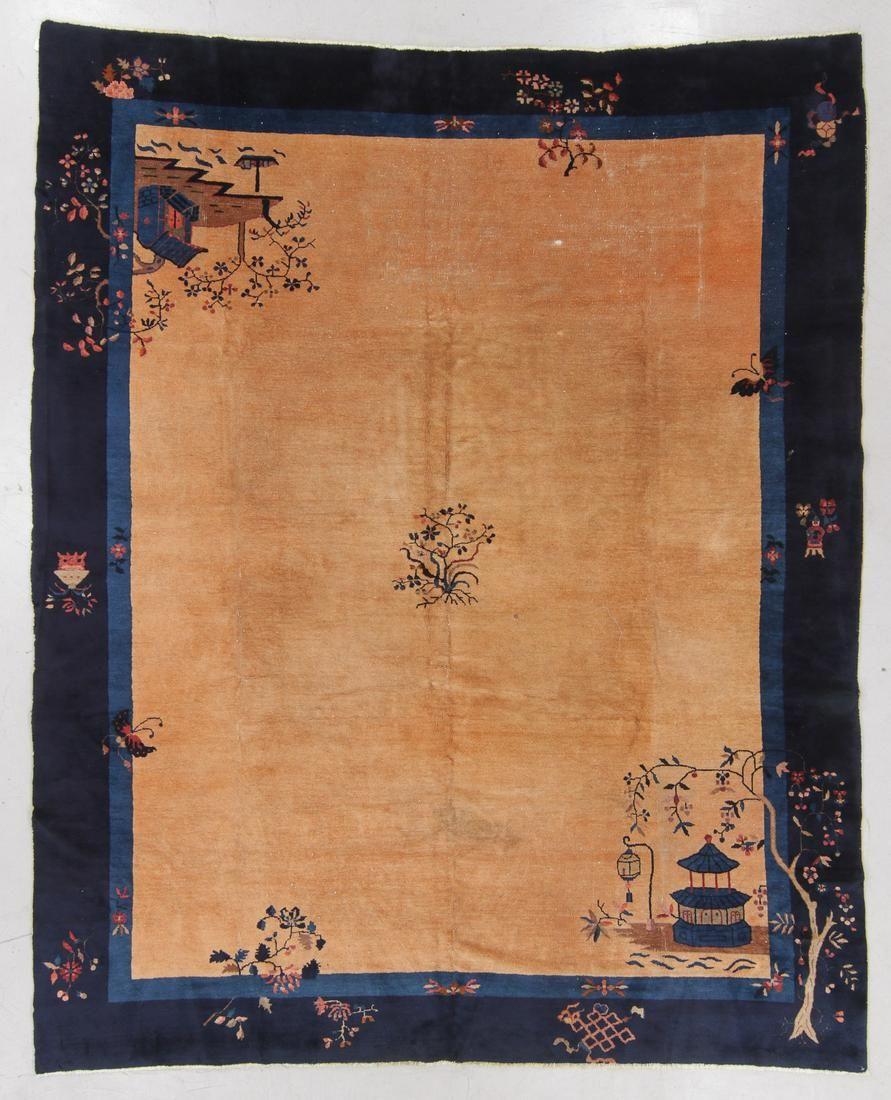 Peking Rug, China, Circa 1900, 9'6'' x 11'5''