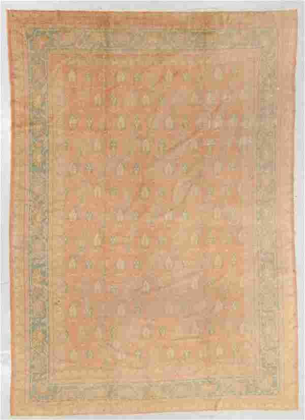 Oushak Rug, Turkey, Circa 1900, 8'10'' x 12'7''