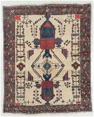 Afshar Rug, Persia, Late 19th C., 5'1'' x 6'4''