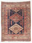 Afshar Rug, Persia, Late 19th C., 4'0'' x 5'4''