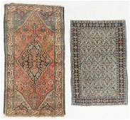 2 Antique West Persian Rugs