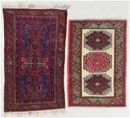 2 Vintage Afghan Rugs