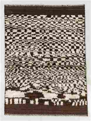 Jiroft Gabbeh Rug, Persia, Mid 20th C., 4'1'' x 5'7''
