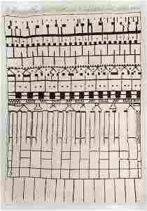 Beni Ourain Rug, Morocco, Late 20th C., 9'5'' x 13'1''