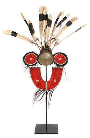 Antique Tangkul Naga Headdress, India/Burma