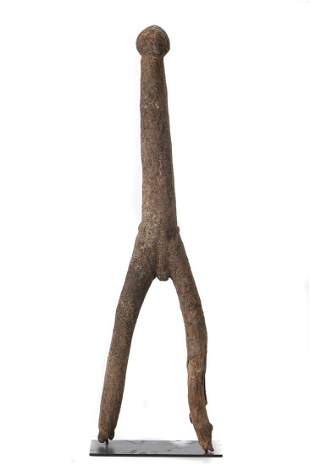 African Lobi Dagari Figure, Burkina Faso, 19th/20th C.