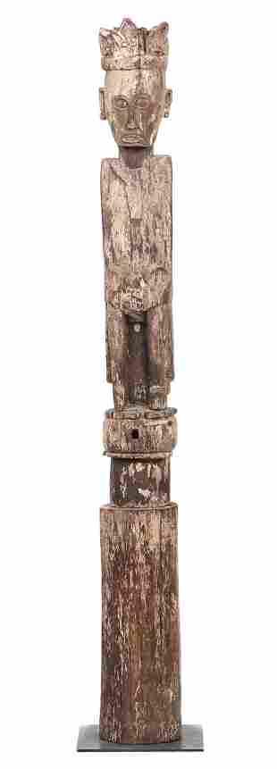 "Ngaju Dayak Guardian Figure (""Hampatong""), Borneo"