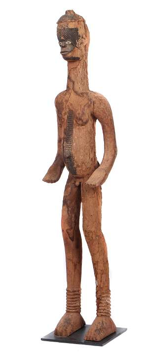 African Igbo Ancestor Figure, Nigeria, 19th century