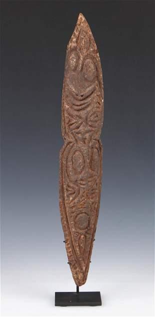 Washkuk Kwoma Minja Cult Figure, PNG