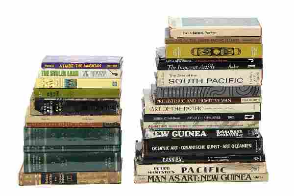 28 Used Books on Indonesian and Oceanic Culture and Art