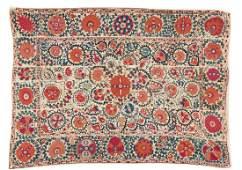 Fine 19th C. Central Asian Bukhara Suzani