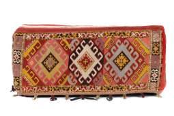 Antique Central Asian Lakai Cargo Bag, Uzbekistan