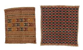 Two Old Indonesian Ceremonial Cloths