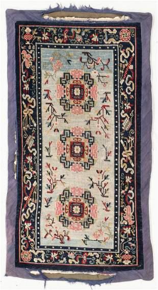 Tibetan Rug, Circa 1900, 2'7'' x 4'10''