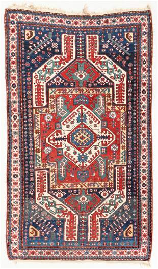 Kasim Ushag Kazak Rug, Caucasus, Circa 1880, 4'7'' x