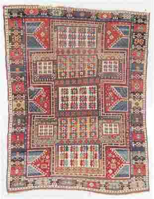 """Kazak Rug, Caucasus, Mid 19th C., 6'1"""" x 7'7"""""""