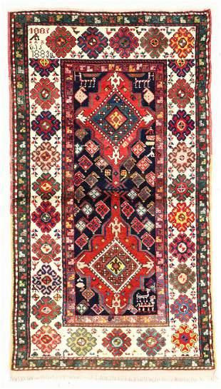 Armenian Kazak, Caucasus, Late 19th C., 3'3'' x 6'1''