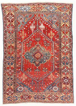 Dazkir Rug, Turkey, Mid 19th C., 6'6'' x 9'1''
