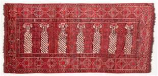 Large Ersari Saf Rug, Turkmenistan, Mid 19th C., 7'11''