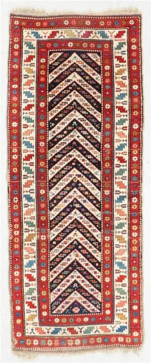 Kazak Rug, Caucasus, Circa 1880, 2