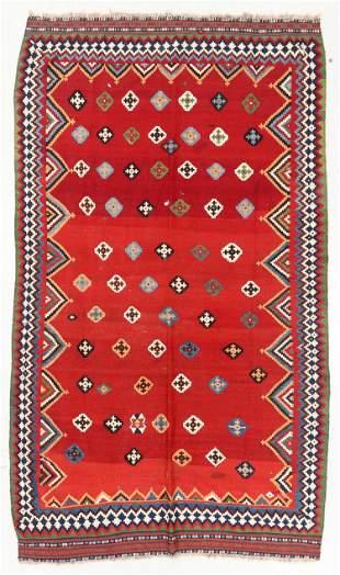 Gashgai Kilim, Persia, Late 19th C., 5'7'' x 9'6''