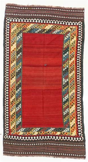 Gashgai Kilim, Persia, Late 19th C., 4'9'' x 8'7''