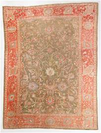 Sultanabad Rug, Persia, Late 19th C., 10'6'' x 13'11''