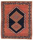 Afshar Rug, Persia, Circa 1900, 3'2'' x 3'11''