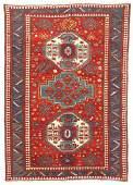 Lori Pambak Kazak Rug Caucasus Late 19th C 64 x