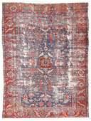 Heriz Rug, Persia, Late 19th C., 9'3'' x 12'10''