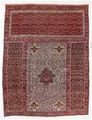 Bidjar Triclinium Rug, Persia, Late 19th C., 12'2'' x