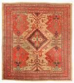 Oushak Rug, Turkey, Circa 1900, 10'6'' x 11'7''