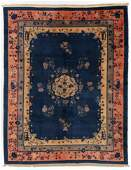 Peking Rug, China, Circa 1900, 9'2'' x 11'6''