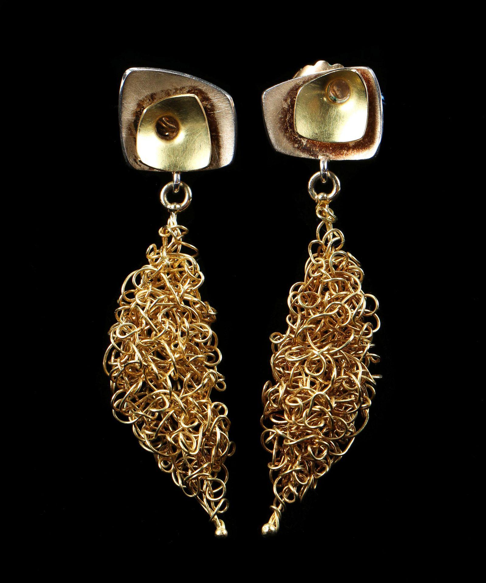 18k Gold Earrings Designed by Lynn Legare