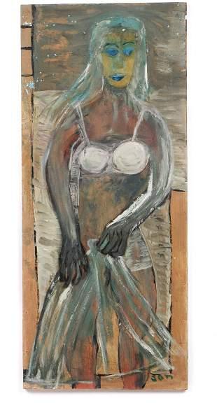 "Jon Serl (American/California, 1894-1993) ""Changing"""